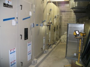 Installation of Large Medical grade HVAC and Block room